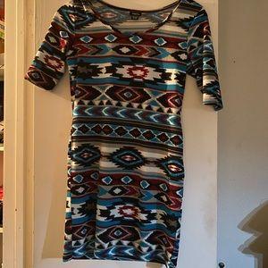 Rue 21 Aztec mini dress